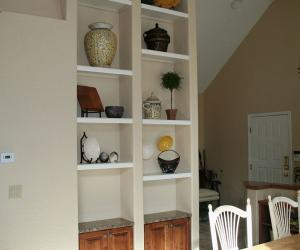 Built In Shelving