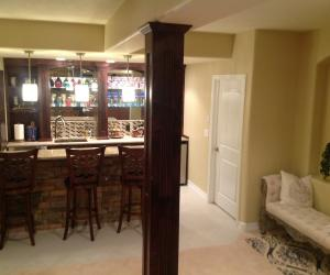 Castle Pines bar with chair
