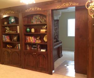 Castle Pines bookshelf hidden room
