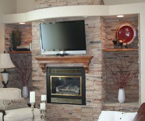 Fireplace and Media Remodel
