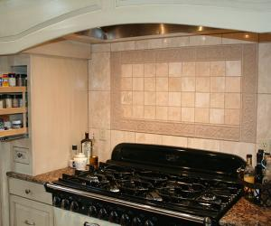 Kitchen Cooking Area Remodel with Slide Out
